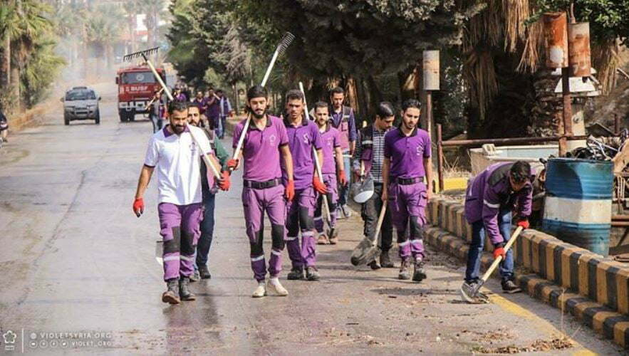 """Meet the """"Violet"""" Successors to the White Helmets' Syria Propaganda Throne"""