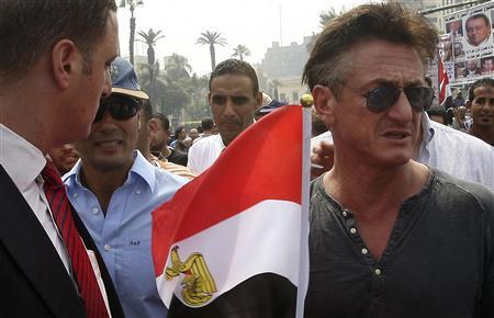 The Covid-19 celebrity humanitarianism – Sean Penn and the Great Reset, funded by Bill Gates and the Clinton Foundation Sean-Penn-in-Egypt